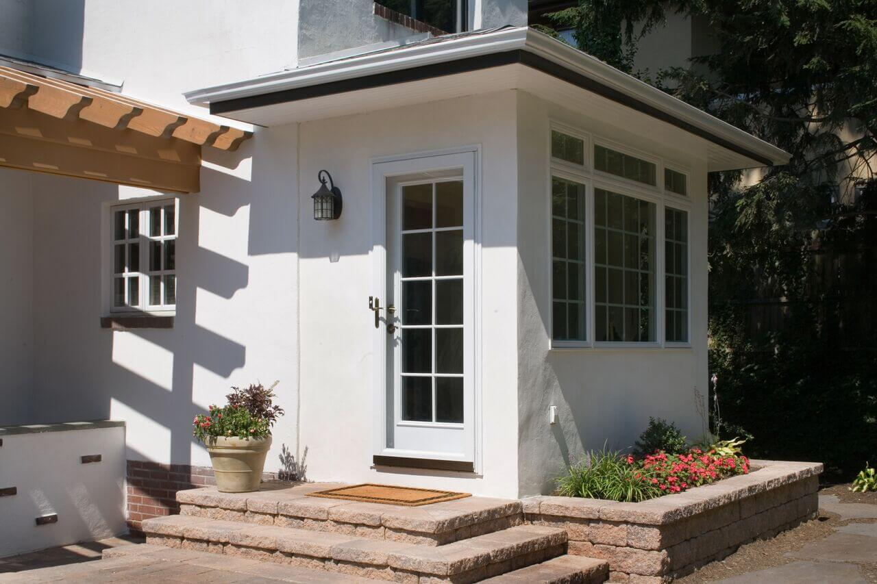 Mudroom Addition And Patio