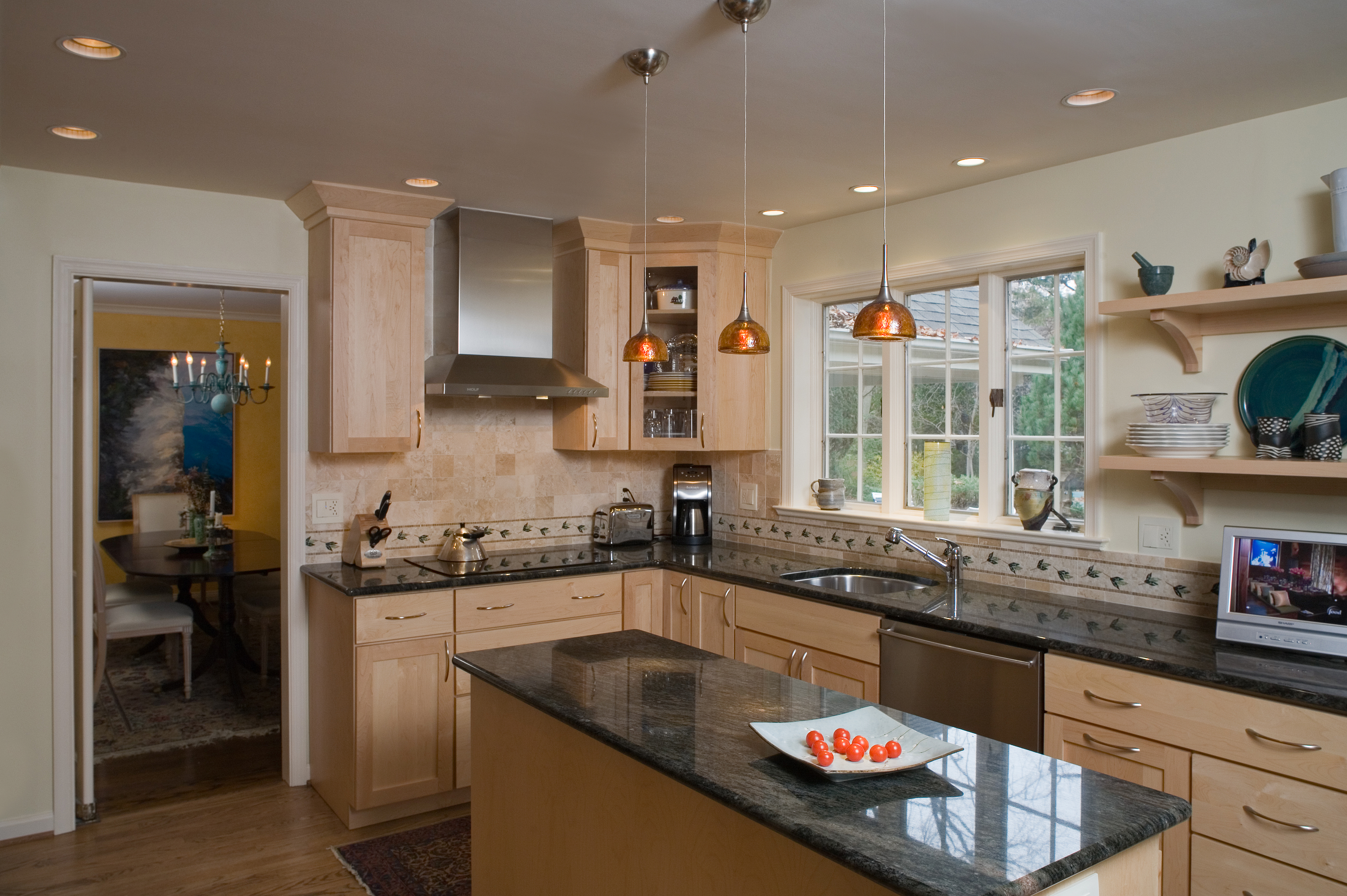 Rydal, PA Kitchen Remodel With Warm Colors and Style